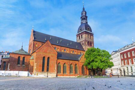 Dome Cathedral in Riga, Latvia Stock Photo