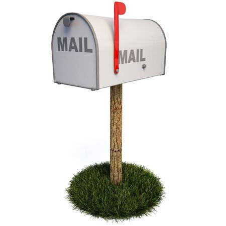 Closed Mailbox Throughout Closed Mailbox With Raised Flag Stock Photo 6682180 Mailbox With Raised Flag Photo Picture And Royalty