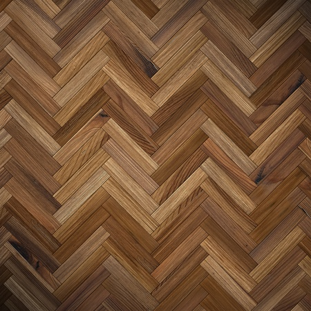 wood floor: the brown wood texture of floor with natural patterns Stock Photo