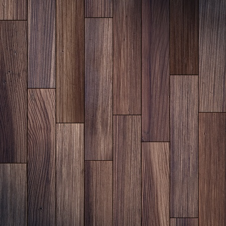 tiled floor: the brown wood texture of floor with natural patterns Stock Photo