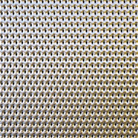 metallic background with holes photo