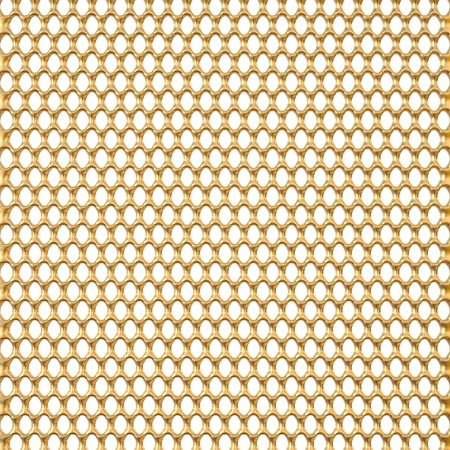 industrial hole: golden background with holes Stock Photo