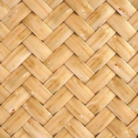 wicker: textura de madera de ratán con los patrones naturales Foto de archivo