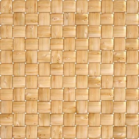 Hintergrund Textur verwoben Holz mit natürlichen Muster