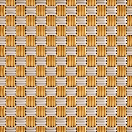 background texture of woven gold and silver photo