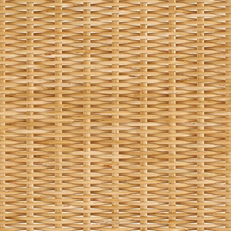 basket: woven rattan with natural patterns Stock Photo