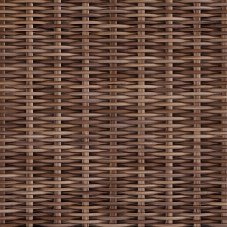 mesh texture: woven rattan with natural patterns Stock Photo
