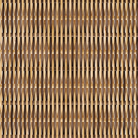 woven rattan with natural patterns photo
