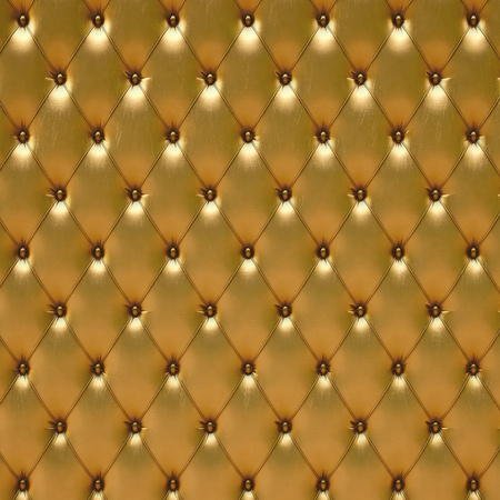 leather armchair: luxurious golden leather