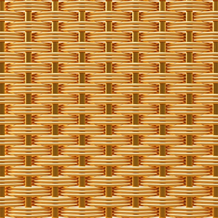 rattan: golden texture of rattan