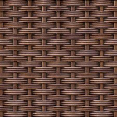 woven rattan with natural patterns Stock Photo