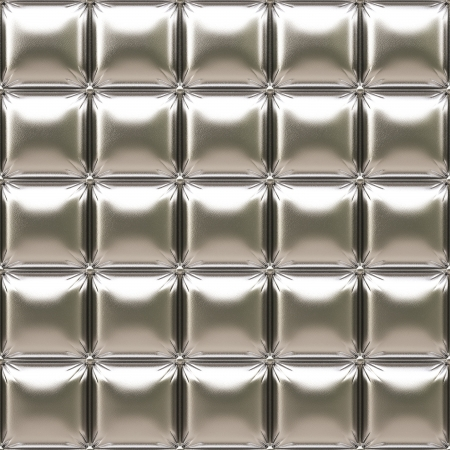 luxurious silver leather Stock Photo - 15847792
