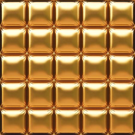 豪華な黄金の革 写真素材