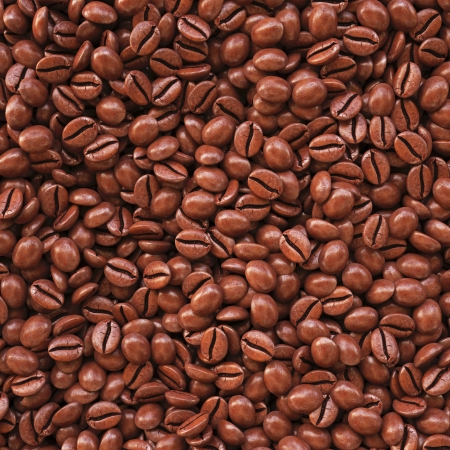 large bean: Background from coffee beans. 3d image.