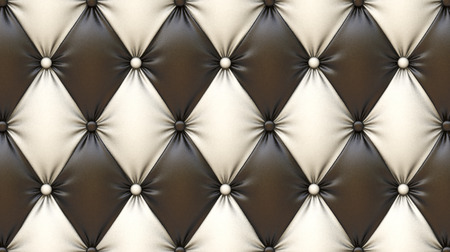 luxurious texture of leather upholstery. photo