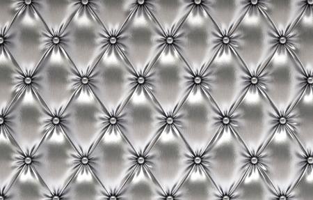豪華な銀革 写真素材