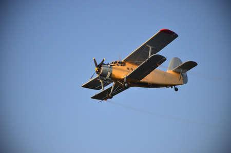 Small plane Stock Photo
