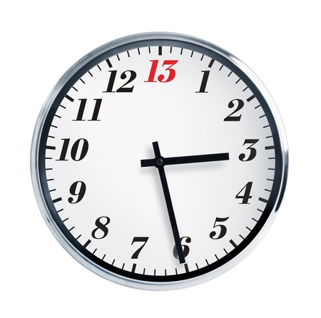 horologe: Fifteen minutes on the fourth wall clocks