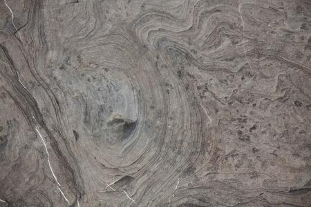 firmness: Piedra gris con manchas oscuras en la superficie