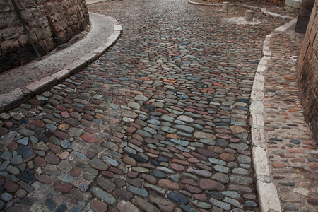 lithic: Road from a stone in the ancient town