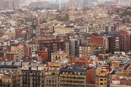 megalopolis: Huge populous city with many different houses