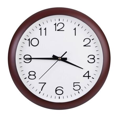 clockwise: Quarter to four o Stock Photo