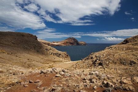 eminence: Mountainous rocky shore of the Atlantic Ocean