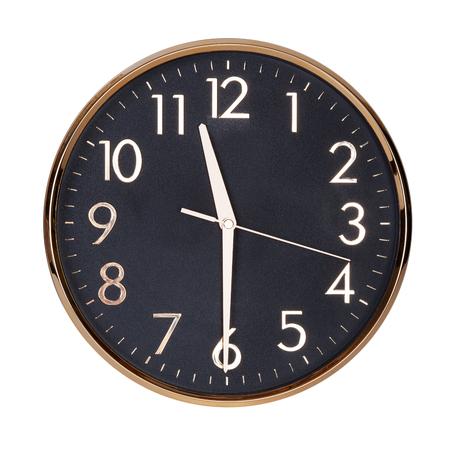 6 12: Half past eleven on round the clock