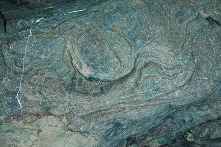 firmeza: Superficie de la piedra gris con manchas marrones