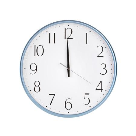 twelve: Exactly twelve hours on the round clock