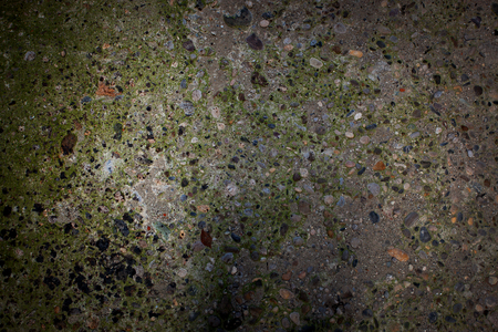 firmness: Gray - green surface of different small stones Stock Photo