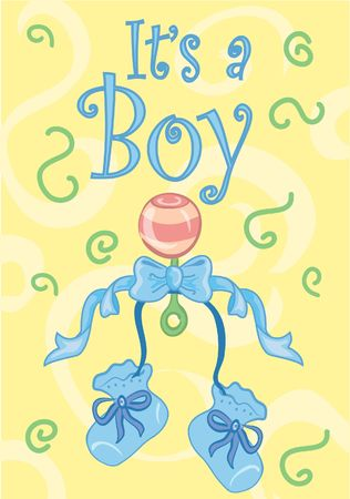 Its a boy! design