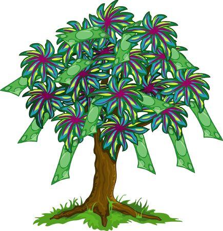 colorfull 돈 나무의 그림