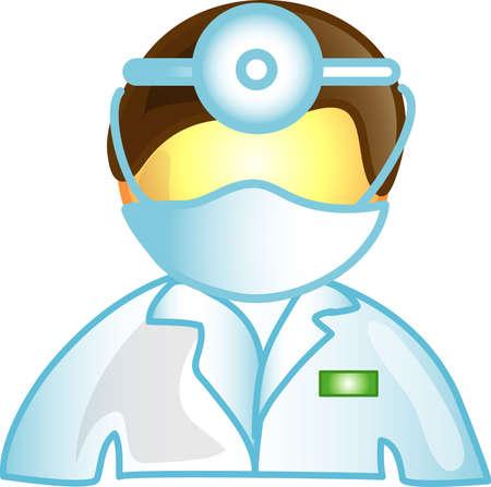 図は、男性医師アイコン、記号、箇条書き、ボタン、またはデザイン要素として使用することができます。
