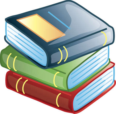 Icon of three stacked books