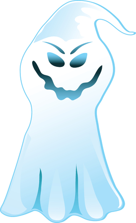 Vector Illustration of a scary Boogeyman