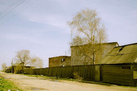 permitted: The street along the church where permitted in the Russian province