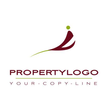 nature logo: property logo Illustration