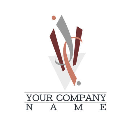 abstract dynamic logo