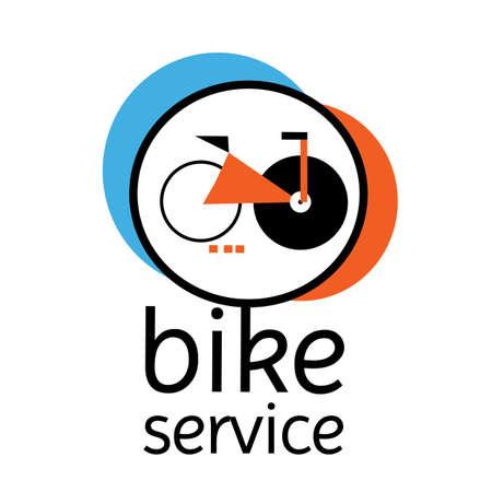geometric bike service logo