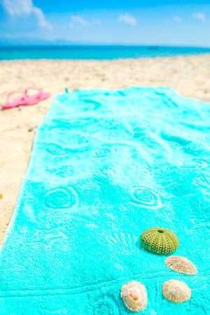 summer turquoise sea Stock Photo