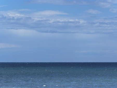 beautyful: Beautyful sky and sea Stock Photo