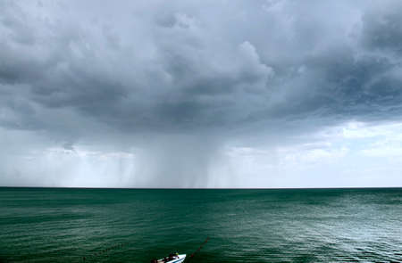 The storm over the Black Sea