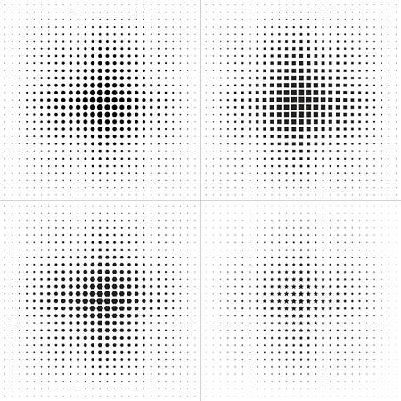 hexahedron: Set of Design Elements. Halftone circle Design Elements. Halftone square Design Elements. Halftone hexahedron Design Elements. Halftone star Design Elements. illustration Illustration