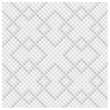 Abstract seamless pattern of rhombus of different brightness forming homogeneous background of the big squares. Vector illustration