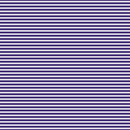 Seamless pattern of frequent horizontal dark blue stripes. Linear background of horizontal stripes. Vector Illustration