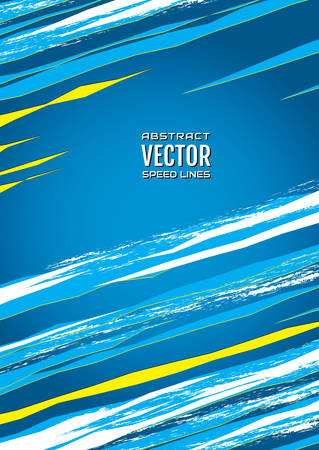 Cold ice background. Colorful speed lines with effect explosion and space for text. Effect motion lines for comic book and manga. Template for web and print design. Vector 일러스트