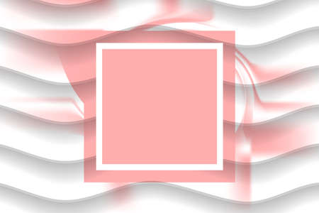 Abstract geometric background with gradient mesh. Wallpaper in white-pink color. Wedding celebration. Presentation title slide design template for business, corporate, party, festive, seminar and talk