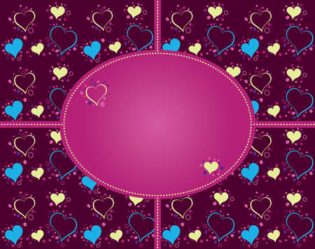 sentimental: heart cards love to write words of love