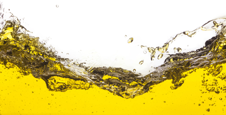 An abstract image of spilled oil